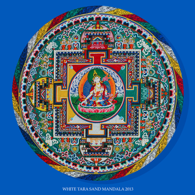 Avinash Photography | Products | White Tara Sand Mandala